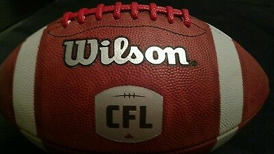 Wilson Authentic CFL Canadian Football League Leather Football