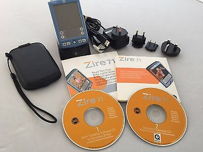 Palm Zire 71 Handheld PDA with Built-in Digital Camera