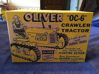 Slik Toys Oliver OC-6 Crawler Tractor-Original Mint With Box And Master Case