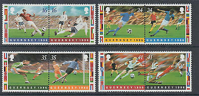 XG-O885 GUERNSEY - Football, 1996 Games, 4X2V MNH Set
