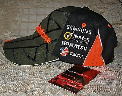TEAM VODAFONE 888 HOLDEN V8 SUPERCARS LOWNDES/WHINCUP CAP unused,old stock