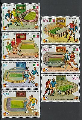 XG-P080 FOOTBALL - Guinea, 1982 Spain '82 World Cup MNH Set