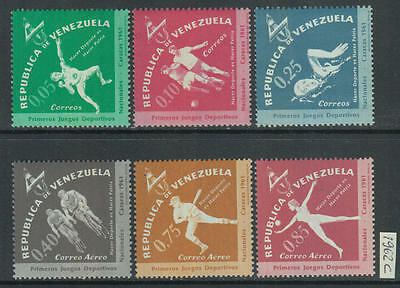 XG-Z632 VENEZUELA - Sports, 1962 National Games, Caracas MNH Set
