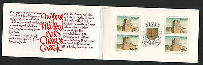 XG-P494 PORTUGAL - Castles, 1988 Coats Of Arms, Vila Real MNH Booklet
