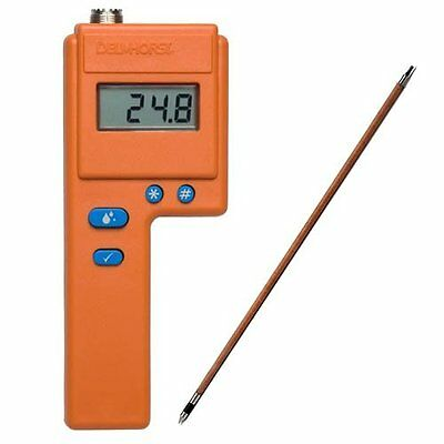 """Delmhorst F-2000/1235 F-2000 Hay Moisture Meter, 1235 10"""" Probe Value Package"""