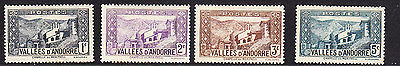 Andorra 1932 Lady's Chapel  Issues -  Mint