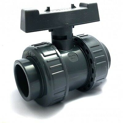 Valve sphere double union - serie irrigation - connection female to stick