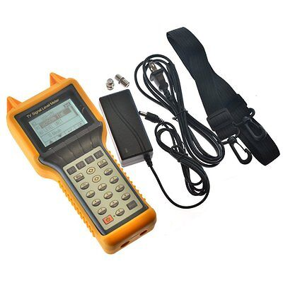 RY-S200D TV Signal Level Meter CATV Cable Testing 5-870MHZ MER BER for both &