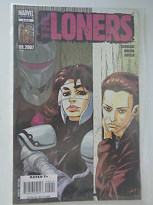 THE LONERS n° 5 of 6 VO (US) 09.2007 Marvel limited serie Comics Sous pochette