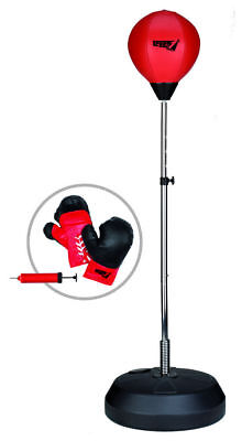 Sport1 boxe punching ball pro with gloves