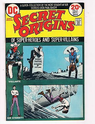 Secret Origins # 4 VF DC Comic Book Batman Flash Canning PEDIGREE Collection D22