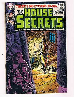 House Of Secrets # 83 FN DC Comic Book Horror Canning PEDIGREE Collection D22