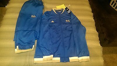 UCLA Basketball Team Issued Warm Up Adidas 2XL NEW WITH TAGS