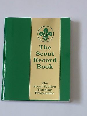 The Scout Record Book - Collectors Item
