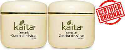 Mother of Pearl Cream Concha Nacar 2X100g(3.5oz)original scar wrinkles blemishes