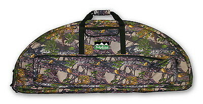 DOUBLE BOW CARRY BAG archery COMPOUND Hunting Bow Arrow CAMO