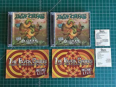 The Black Crowes Instant Lives CD August 5 & 9th 2005 The Fillmore SF CA
