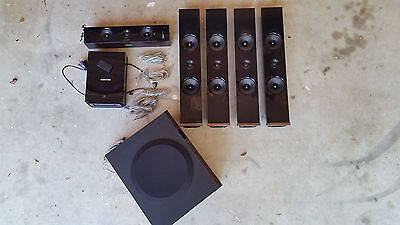 Samsung surround sound speakers and wireless card