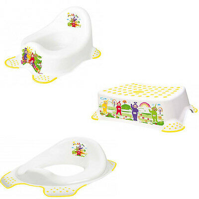 Solution Teletubbies Potty/ Stepstool/ Toilet Trainer Seat