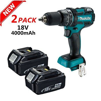 2 Pack FOR Makita BL1840 18-Volt 4.0Ah LXT Lithium-Ion Battery with Indicator MA