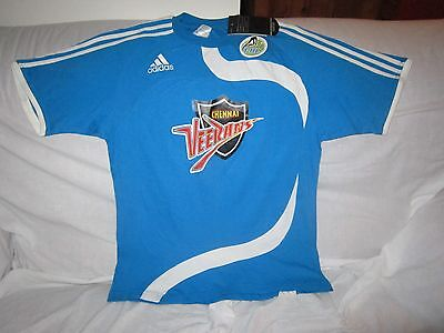Indian Premier Hockey League Bnwt Chennai Veerans Adidas Shirt Size Medium