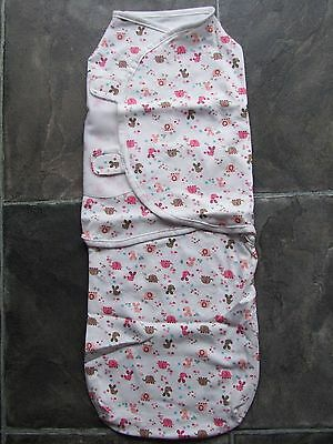 BNIP Baby Girl's Cotton Knit Swaddle/Wrap/Blanket