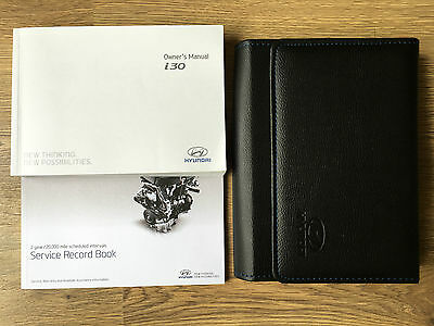 Hyundai I30 Owners Manual Handbook Pack With Wallet +Service 2011-2016 Ref3466