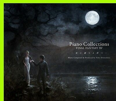 New Piano Collections FINAL FANTASY XV Square Enix Japan CD Music