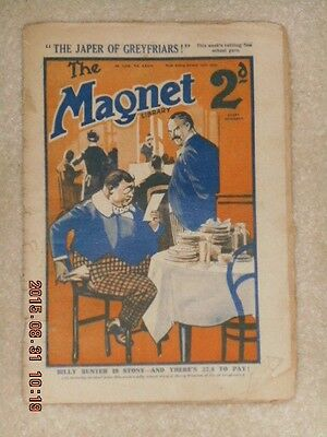 The Magnet Magazine Featuring Billy Bunter October 15th 1928