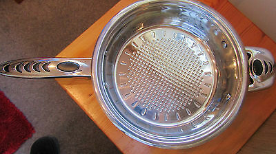 Swiss Jura Gas Electric Vitro Induction Stainless Steel Pan in Ex.Condition