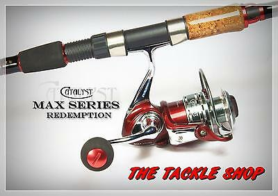 6'6 8kg HIGH END SPIN COMBO - ALLOY CATALYST MAX 2500 REEL + REDEMPTION 1pc ROD