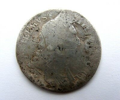 William III Silver Shilling dated 1696