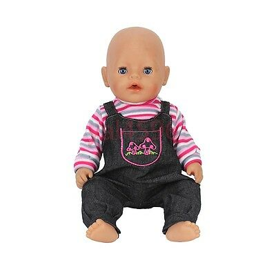 cowboy clothes Doll Clothes Wearfor 43cm Baby Born zapf (only sell clothes )