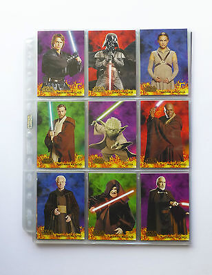 Star Wars Revenge of the Sith Topps Trading Cards  **90 CARD BASE SET**