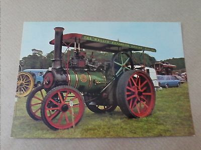 Wallis & Steevens Patent Expansion Engine Traction Steam Vintage Postcard