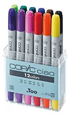 Copic Ciao Marker Set - Basic (Pack Of 12)