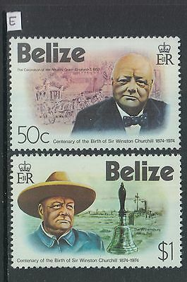 XG-Z829 BELIZE - Churchill, 1974 Birth Centenary MNH Set