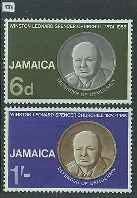 XG-Z870 JAMAICA IND - Churchill, 1965 In Memory, 2 Values MNH Set