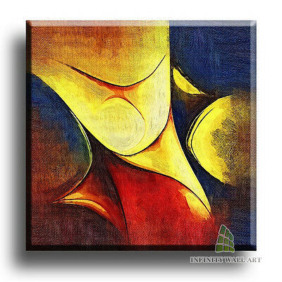 "20""X20"" Canvas Art Prints Abstract Framed Fine Art Picture Graphics;§C9"
