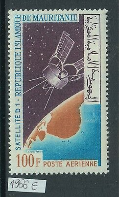 XG-Z935 MAURITANIA IND - Space, 1966 Satellite D1, Airmail MNH Set