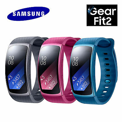 SAMSUNG Gear Fit2 SM-R360 GPS Sports Band Fitness Tracker Smart Watch
