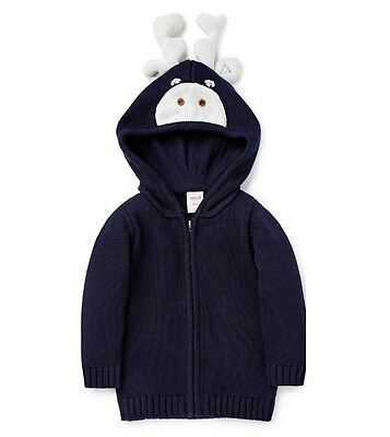 NEW Seed Novelty Hoodie Size 00 (3-6m) RRP59.95