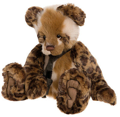 Chit Chat collectable plush teddy bear by Charlie Bears - CB161630