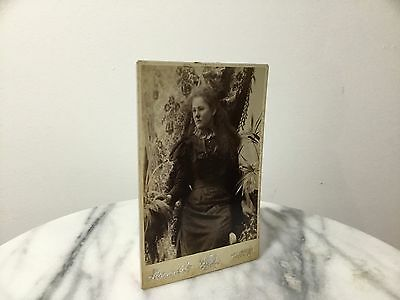 Hammer & Co. Vintage Antique Lady Photo Photograph Card