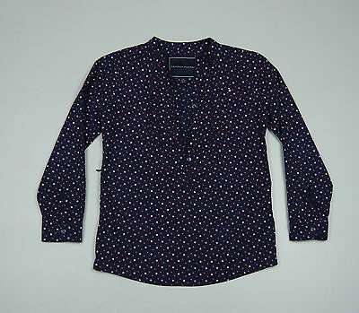 Tommy Hilfiger Blue Girls long sleeved Shirt Size M (8-10)