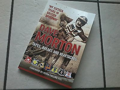 Dave Morton Book - Tapes, Breaks And Heartaches - Speedway