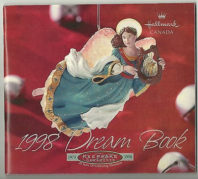 HALLMARK Dream Book 1998 - Ornament Products catalogue.