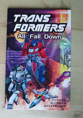Transformers All Fall Down Graphic Novel