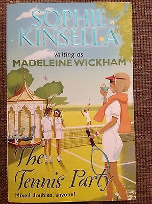Sophie Kinsella writing as Madeleine Wickham, The Tennis Party paperback book