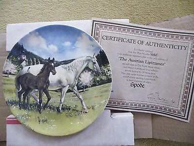 A Spode collectors plate